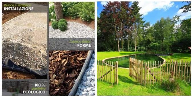 Bordi ecologici e recinzioni for Bordi per giardino