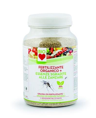 Fertilizzante organico + anti zanzare