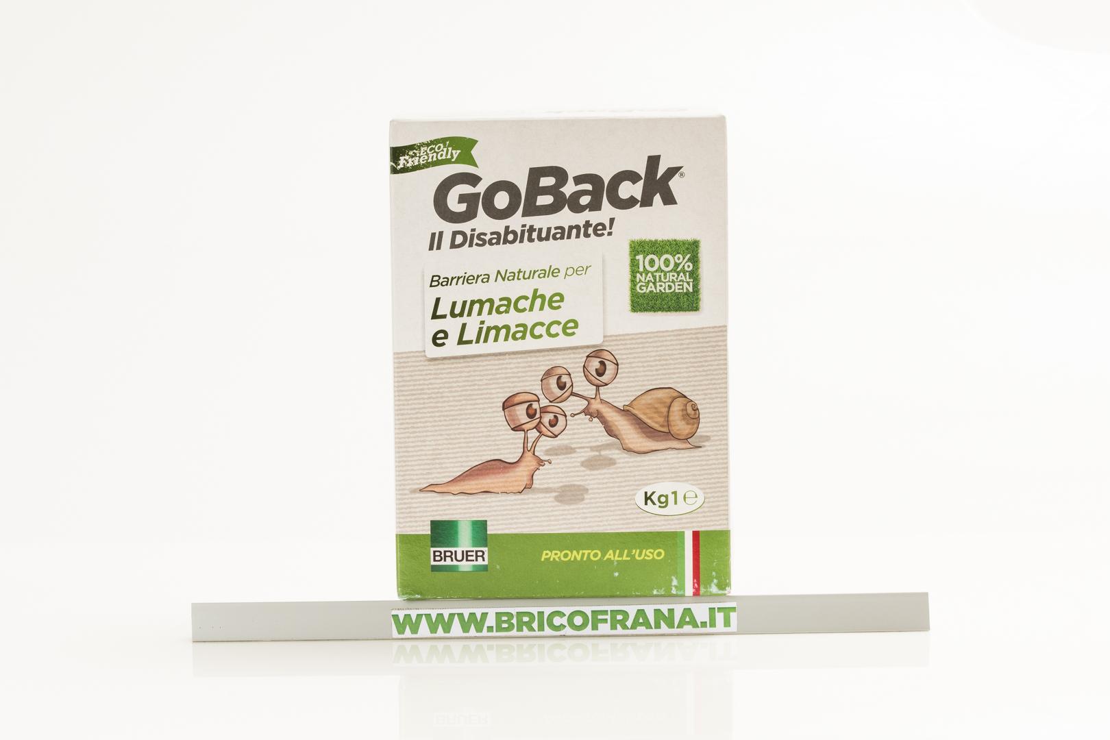 Repellente Naturale Per Vespe goback lumache e limacce - barriera naturale